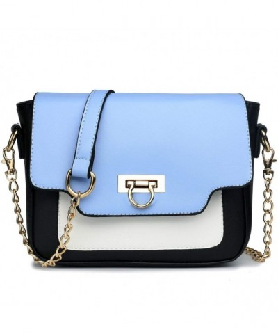 Miss Lulu Leather Horseshoe Satchel