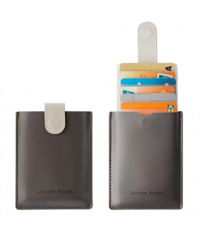 RFID Leather Minimalist Slim Wallets