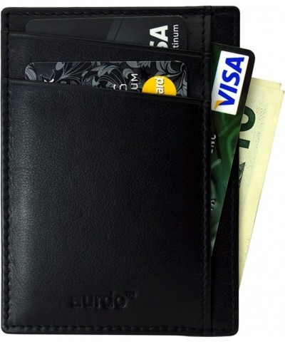 Blocking minimalist Wallets Geniune Leather