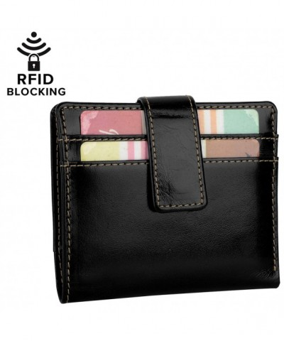 YALUXE Blocking Security Leather Billfold