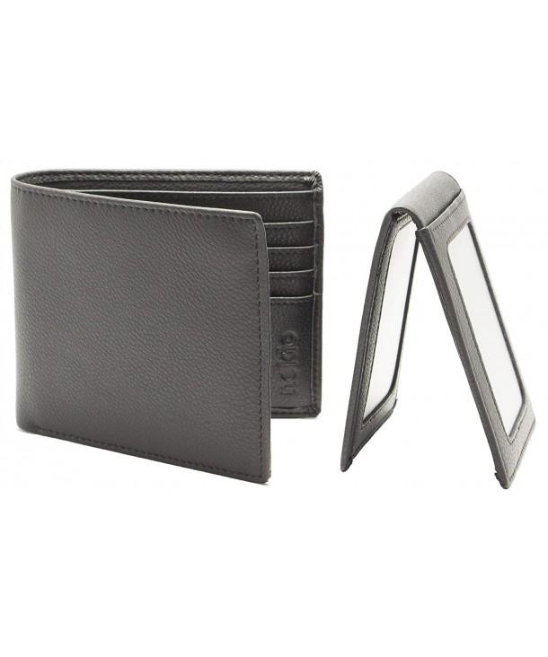 nokto Leather Bifold Wallet Minimalist