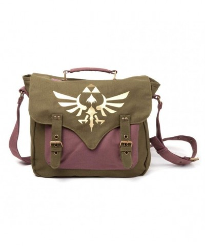 Legend Zelda Gold Triforce Messenger