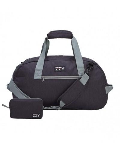 Foldable Duffels Lightweight Durable Black 35L