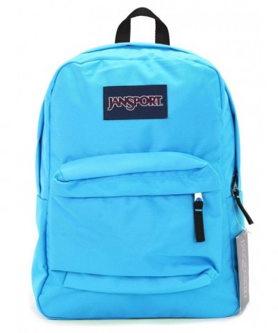 Jansport Superbreak Backpack blue crest