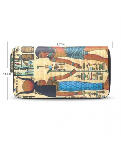 Womens Ancient Egyptian Pattern Wallet