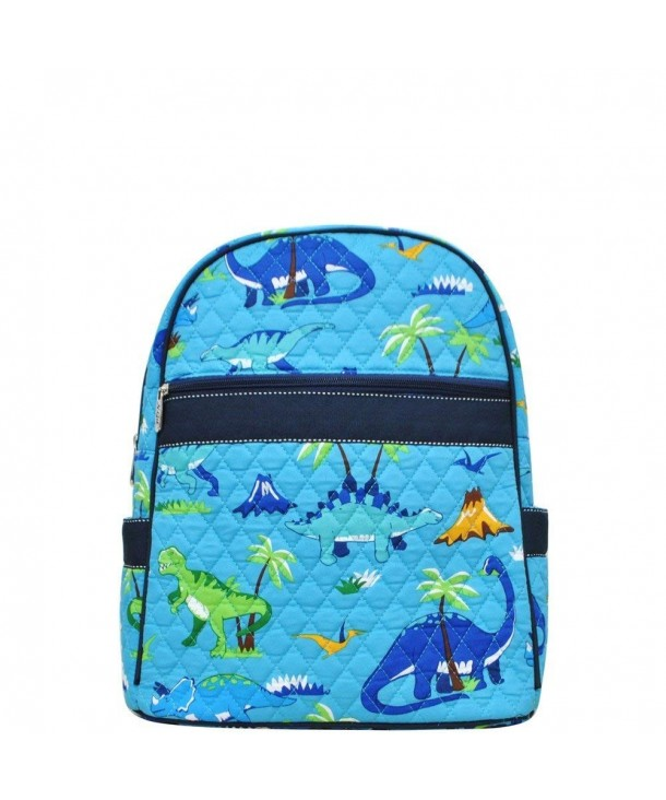Animal Themed Prints Quilted Backpack