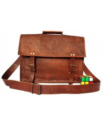 Handmadecraft 15 inch Genuine Pocketless Shoulder