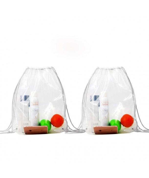 Backpacks Clear Drawstring Waterproof Bags Drawstring Backpacks Stadium Backpack