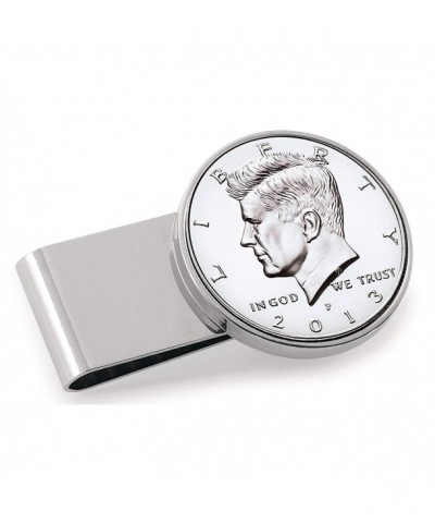 Dollar Stainless Steel Silvertone Coin