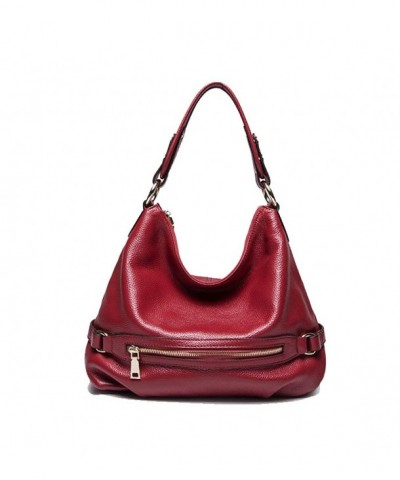 Mayshe Genuine Leather Shoulder Crossbody