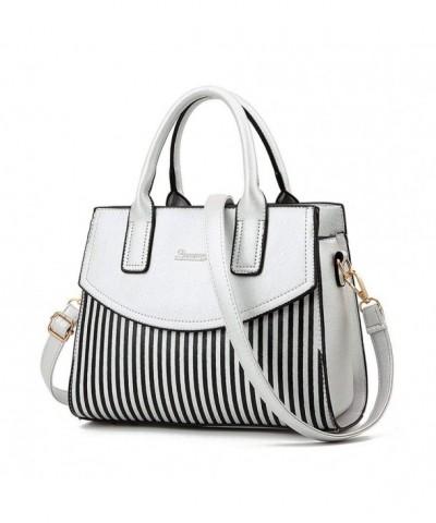 Bowling Leather Satchel Shoulder Handbags