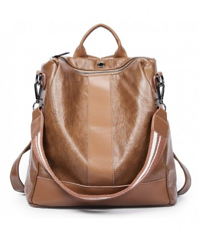 Backpack Leather Covertible Shoulder Fashion