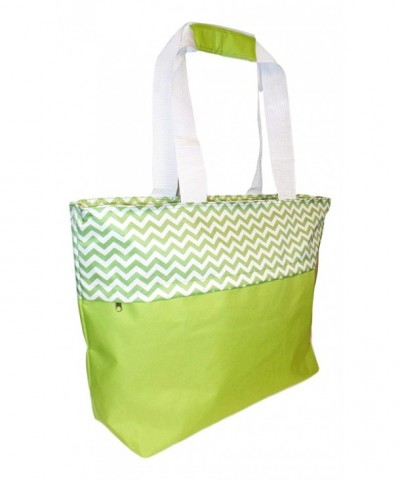 Jumbo Zipper Summer Beach Tote