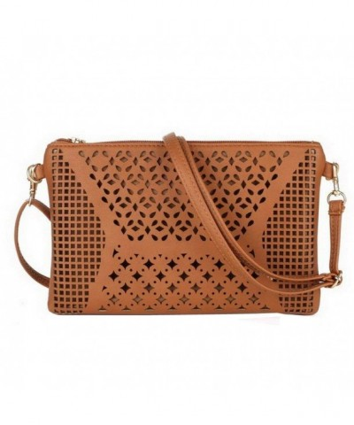 Jiaruo Vintage Leather Crossbody Handbag