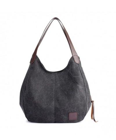 Qyoubi Multi pocket Shoulder Shopping Handbags