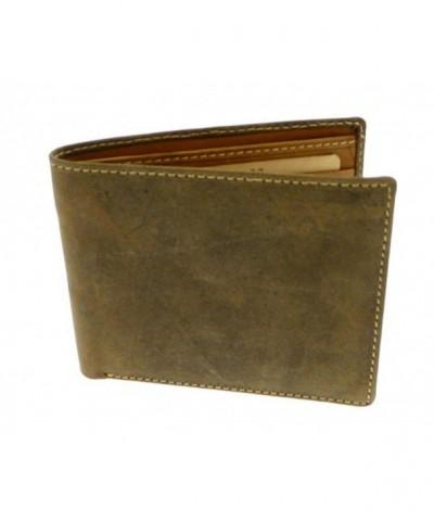 Brown Leather Credit Holder Wallet