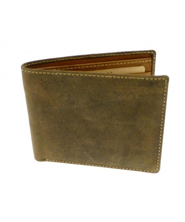 Brown Leather Credit Holder Wallet