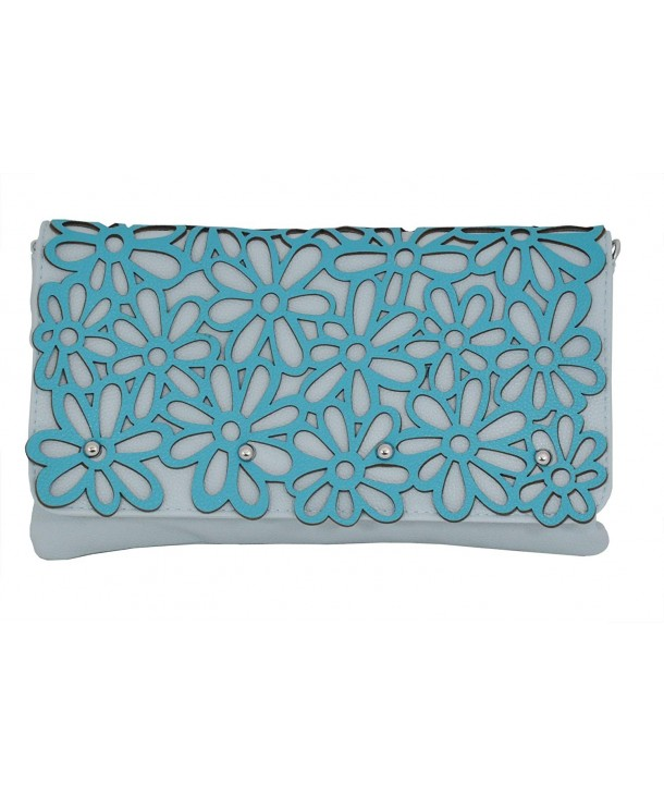 Festival Clutch Stenciled Handbag Optional