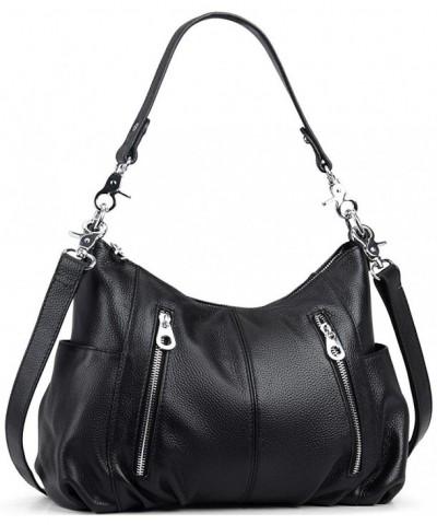 Womens Leather Shoulder Handbags Satchel