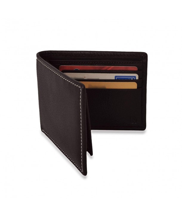 V an Leather Wallet Detachable Flapover