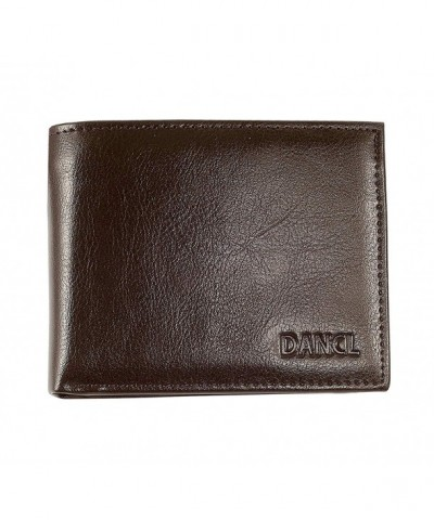 Slim Leather Wallet Men Minimalist