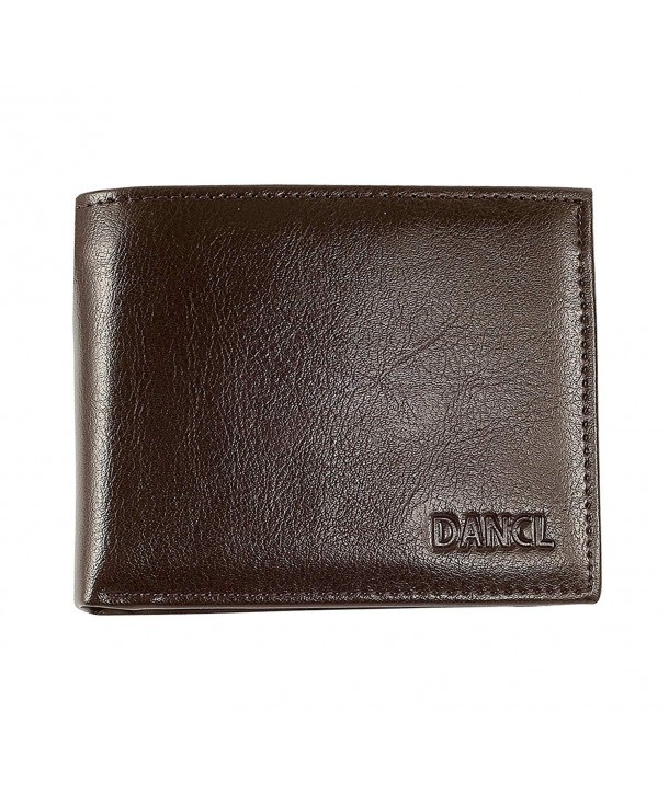 Slim Leather Wallet Men Minimalist