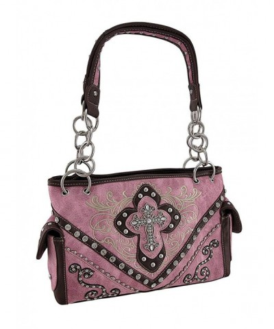 Handbags Embroidered Western Concealed Rhinestone