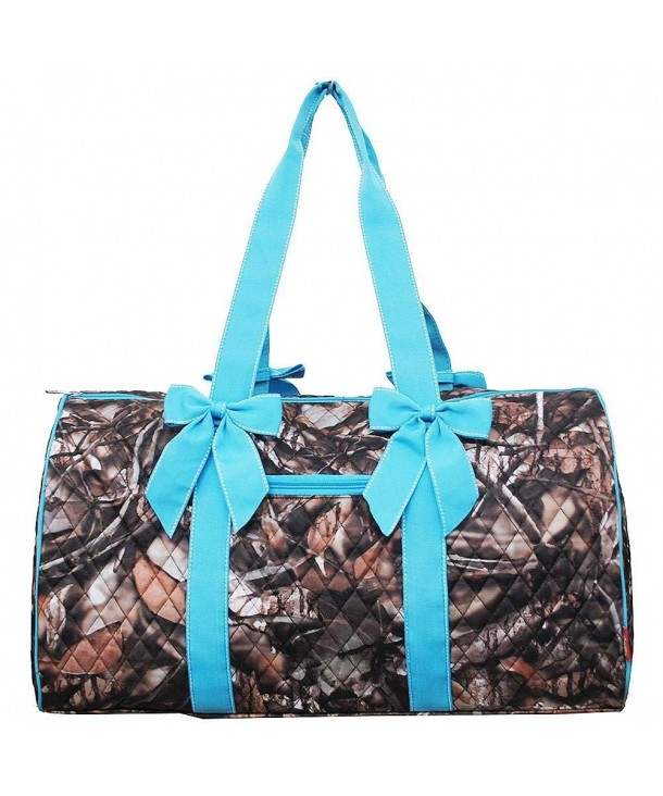 Quilted Duffle Weekend Overnight Detachable