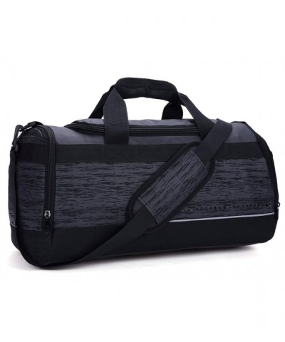 MIER Compartment Duffel Medium Black
