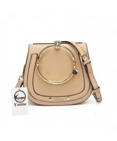 Elegant Circular Handbags Messenger Crossbody