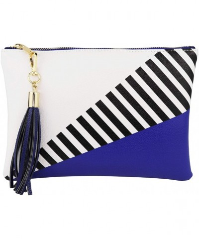 BRENTANO Vegan Clutch Tassel Accent