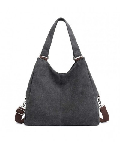 Shoulder Crossbody Shopper Handbag DarkGrey