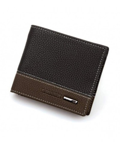 Mandy Leather Bifold Holder Pockets