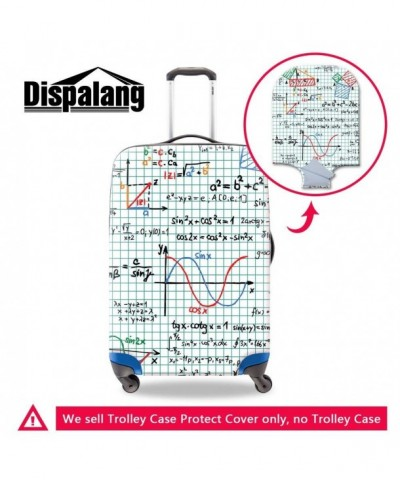Generic Personalized Geometric Suitcase Protectors