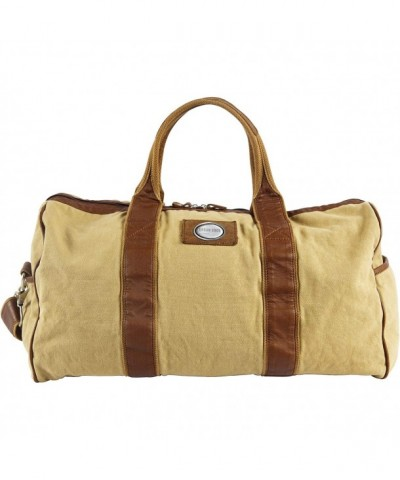 Canyon Outback Canvas Leather Duffel