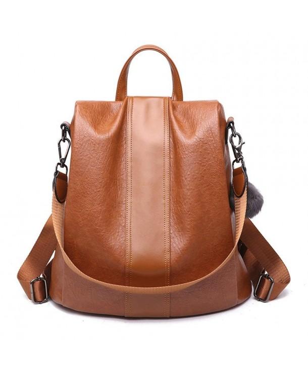 ZUNIYAMAMA Fashion Leather Backpack waterproof