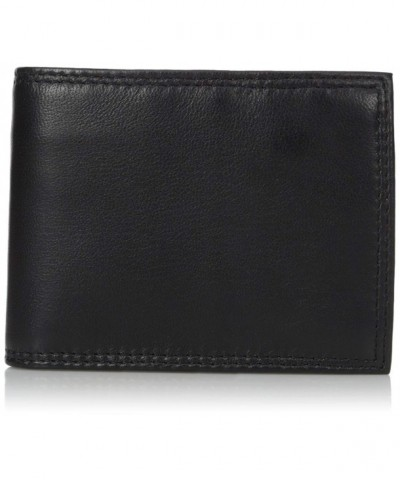 Buxton Emblem Convertible Lambskin Wallet