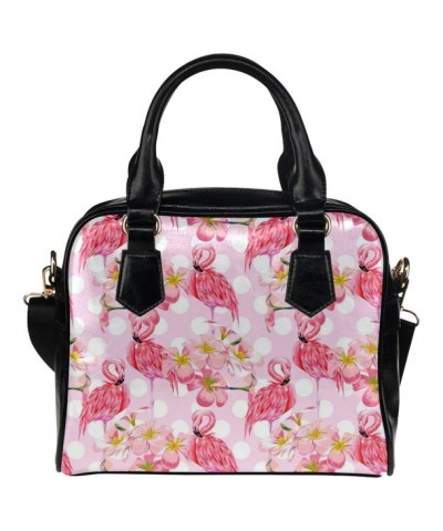 CASECOCO Blossom Flamingo Leather Shoulder