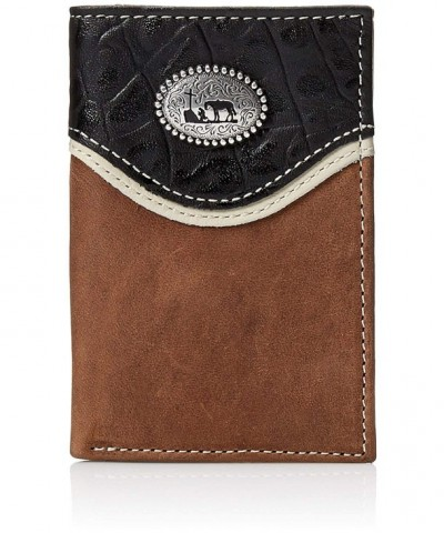 Nocona Mens Praying Trifold Brown