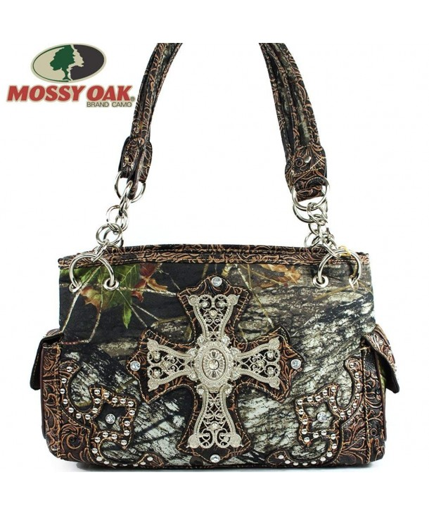 Mossy Oak Rhinestoned Camoulage Shoulder
