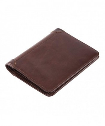 DrawingIQ Leather Wallet DQ66 2 Trifold