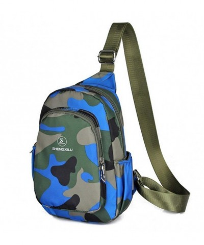 Camouflage Lightweight Waterproof Multi functional Crossbody
