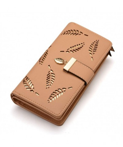 Womens Bifold Wallet Leather Holder