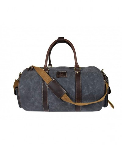 Water Resistant Multi Functional Weekender Aaron Leather