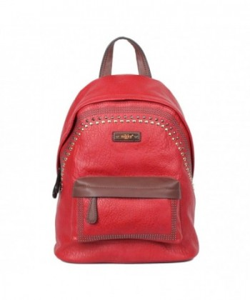 Nikky Eco Leather Spacious Backpack