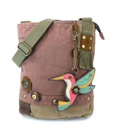 Chala Patch Crossbody Hummingbird Mauve