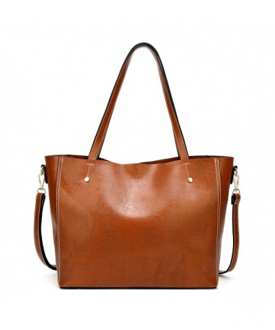 Leather Satchel Handbags Shoulder Messenger