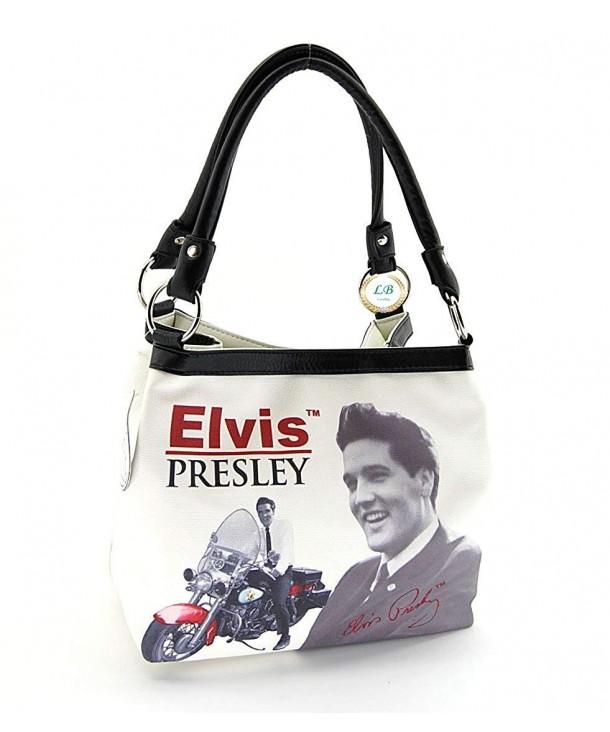 Elvis Presley Medium Handbag Motorbike