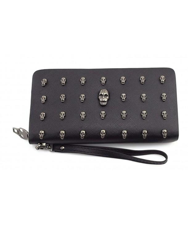 Womens Leather Wristlet Wallet Handbags