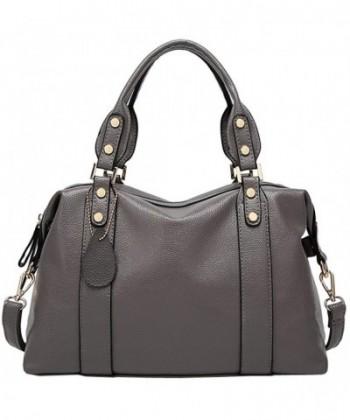 Kenoor Leather Handbag Shoulder Satchel